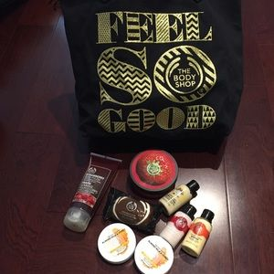 THE BODY SHOP Bundle - Tote + Skincare Body Lotion